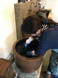 姫路 綿屋 藍染体験 岐阜県関市 整理収納アドバイザー KuraRaku