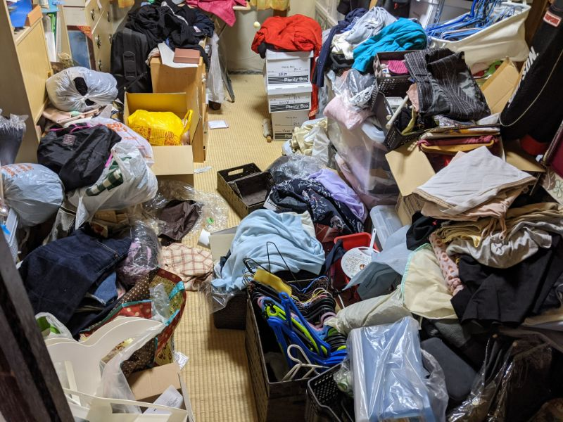 整理収納サービス 衣類 服 岐阜県関市 整理収納アドバイザー KuraRaku 片づけ 整理整頓